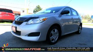 Used 2011 Toyota Matrix ONE OWNER|NO ACCIDENT|A/C|CRUISE CONTROL|CERTIFIED for sale in Oakville, ON
