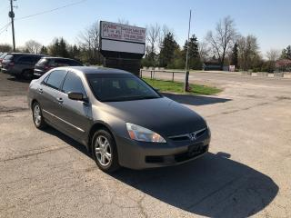 Used 2007 Honda Accord EX-L for sale in Komoka, ON