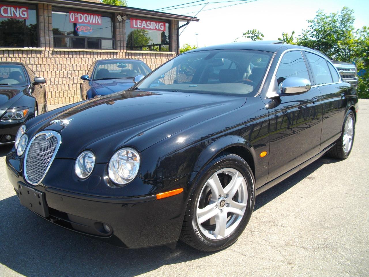 Photo of Black 2006 Jaguar S-Type