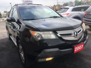 Used 2007 Acura MDX TECHNOLOGY PKG for sale in Hamilton, ON
