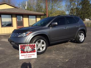 Used 2005 Nissan Murano SL for sale in Glencoe, ON