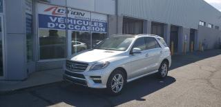 Used 2015 Mercedes-Benz ML-Class ML350 BlueTEC 4MATIC MECANIQUE A1 for sale in St-Hubert, QC