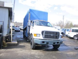 Used 2001 Ford F-650 14 ft chipper body for sale in North York, ON