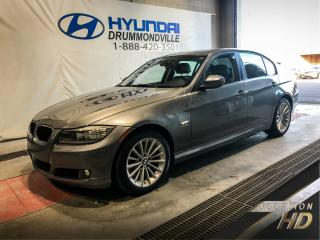 Used 2011 BMW 3 Series 328XI + BAS KM + CUIR + MAGS + TOIT + WO for sale in Drummondville, QC