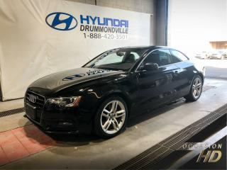 Used 2013 Audi A5 A5 PREMIUM PLUS + GARANTIE + CUIR + MAGS for sale in Drummondville, QC