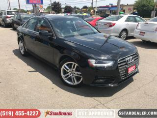 Used 2013 Audi A4 2.0T Premium | NAV | LEATHER | ROOF | AWD for sale in London, ON