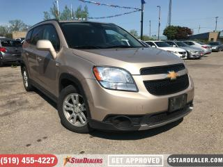 Used 2012 Chevrolet Orlando 1LT | AUTO LOANS APPROVED for sale in London, ON