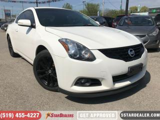 Used 2011 Nissan Altima 3.5 SR | ROOF | LEATHER | CAM | CUSTOM EXHAUST for sale in London, ON