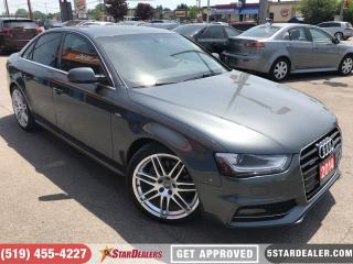 Used 2014 Audi A4 2.0 Progressiv S-Line | NAV | LEATHER | ROOF for sale in London, ON