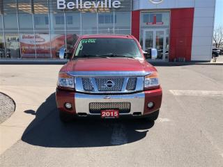 Used 2015 Nissan Titan SL 4WD 1 OWNER LOCAL TRADE for sale in Belleville, ON