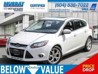 Used 2013 Ford Focus Titanium**LEATHER**HEATED SEATS**REAR CAMERA** for sale in Surrey, BC
