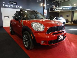 Used 2014 MINI Cooper Countryman COOPER S ALL4 / NAVIGATION / 6 SPEED for sale in North York, ON