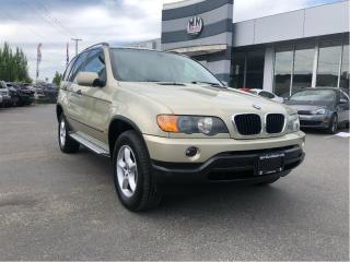 Used 2002 BMW X5 LOW KM's, Langley for sale in Langley, BC