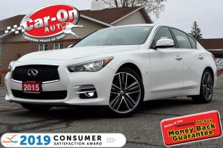 Used 2015 Infiniti Q50 3.7 LIMITED AWD LEATHER NAV SUNROOF LOADED for sale in Ottawa, ON