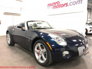 Used 2006 Pontiac Solstice Leather Chrome Wheels First 1000 16k miles for sale in St George Brant, ON