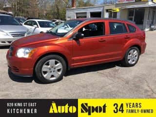 Used 2009 Dodge Caliber SXT/LOW, LOW KMS/PRICED - QUICK SALE ! for sale in Kitchener, ON