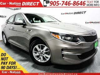 Used 2018 Kia Optima LX| HEATED SEATS| WE WANT YOUR TRADE| for sale in Burlington, ON
