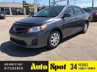 Used 2012 Toyota Corolla LOW, LOW KMS/PRICED - QUICK SALE ! for sale in Kitchener, ON