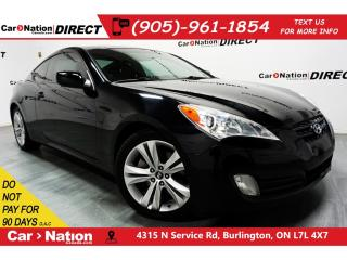 Used 2012 Hyundai Genesis Coupe 2.0T| LOW KM'S| LEATHER| SUNROOF| for sale in Burlington, ON
