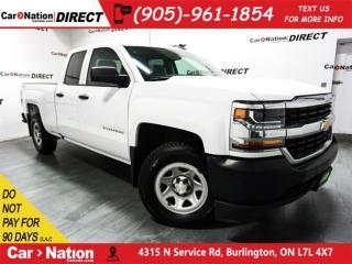 Used 2016 Chevrolet Silverado 1500 WT| BACK UP CAMERA| 4X4| OPEN SUNDAYS| for sale in Burlington, ON