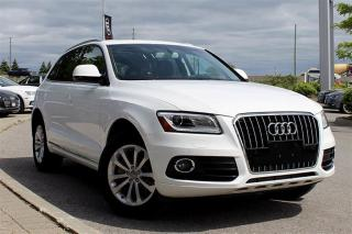 Used 2016 Audi Q5 3.0 TDI Progressiv + Heated Seats | Bluetooth for sale in Whitby, ON