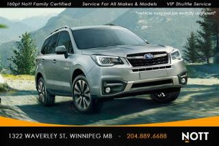 Used 2017 Subaru Forester 2.5i Limited w/TECH PKG Nav Ba for sale in Winnipeg, MB