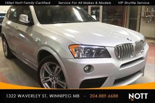 Used 2014 BMW X3 xDrive28i M Sport PKG Moon Roo for sale in Winnipeg, MB