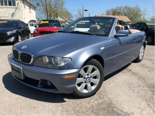 Used 2005 BMW 3 Series 325Ci LOW KMS!! NICE LOCAL TRADE IN!! for sale in St Catharines, ON