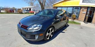 Used 2010 Volkswagen Golf GTI for sale in Barrie, ON