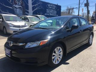 Used 2012 Honda Civic Sdn EX for sale in Scarborough, ON