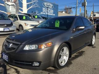 Used 2007 Acura TL W/NAVIGATION PKG for sale in Scarborough, ON