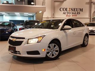 Used 2014 Chevrolet Cruze LT-AUTOMATIC-BLUETOOTH-ONLY 77KM for sale in York, ON