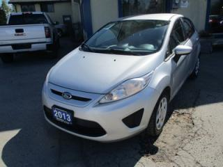 Used 2013 Ford Fiesta FUEL EFFICIENT SE HATCH EDITION 5 PASSENGER 1.6L - DOHC.. SYNC TECHNOLOGY.. AUX/USB INPUT.. BLUETOOTH.. KEYLESS ENTRY.. for sale in Bradford, ON