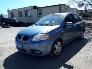Used 2007 Pontiac Wave SE,,certified for sale in Oshawa, ON
