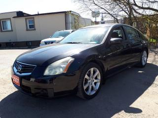 Used 2007 Nissan Maxima 3.5 SL,certified for sale in Oshawa, ON