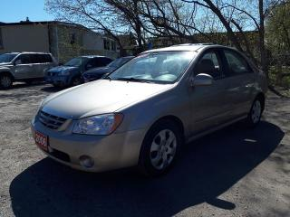 Used 2006 Kia Spectra certified,,low kms for sale in Oshawa, ON