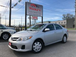 Used 2013 Toyota Corolla CE - AUTO - SUNROOF - LOADED!  $63 WEEKLY for sale in Gloucester, ON