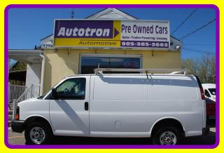 Used 2012 GMC Savana 2500 3/4 Ton Cargo, A/C, Roof Rack for sale in Woodbridge, ON