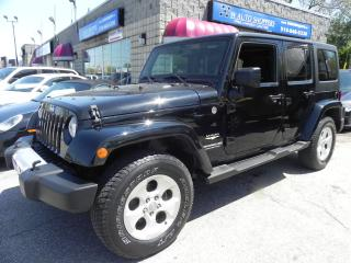 Used 2013 Jeep Wrangler Sahara Unlimited for sale in Windsor, ON