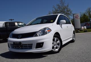 Used 2010 Nissan Versa AUTO/ROOF/PL/PW/BT for sale in Quesnel, BC