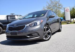 Used 2014 Kia Forte SX ROOF/LEATHER/HS/BT/PM for sale in Quesnel, BC