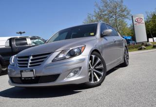 Used 2012 Hyundai Genesis 5.0L PL/PW/LEATHER/ROOF for sale in Quesnel, BC
