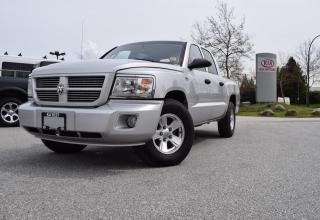 Used 2011 Dodge Dakota PL/PW/AUTO/4X4 for sale in Quesnel, BC