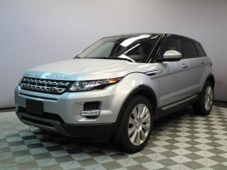 Used 2015 Land Rover Evoque Prestige - 6yr/160000kms manufacturer warranty included until January 29, 2021! Local One Owner Leaseback | Low KMs | Softgrain Leather Interior | Navigation | Surround Camera System | Parking Sensors | Reverse Traffic/Blind Spot/Closing Vehicle Sensors | for sale in Edmonton, AB