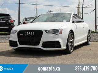 Used 2014 Audi RS5 AWD 450 HP LEATHER ROOF NAVI EATS THE ROAD for sale in Edmonton, AB