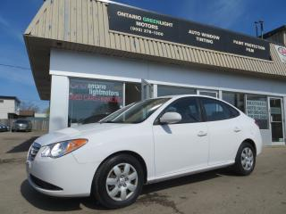 Used 2010 Hyundai Elantra AUTOMATIC,AIR CONDITIONING,CERTIFIED for sale in Mississauga, ON