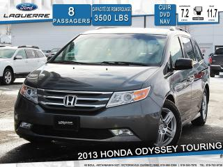 Used 2013 Honda Odyssey Touring 8 Passagers for sale in Victoriaville, QC