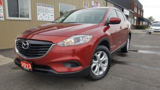 Used 2013 Mazda CX-9 GSL-7 PASS-AWD-LEATHER-SUNROOF-BACK UP CAMERA for sale in Tilbury, ON