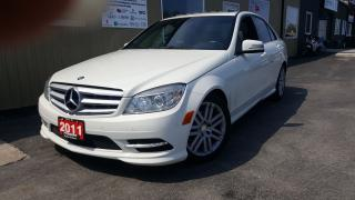 Used 2011 Mercedes-Benz C250 C 250W4M AWD-SUNROOF-LEATHER-LIMITED PACKAGE for sale in Tilbury, ON