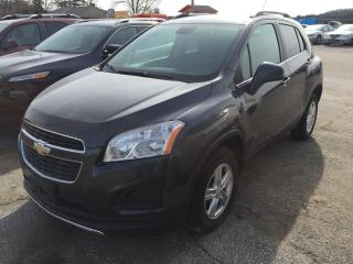 Used 2015 Chevrolet Trax LT for sale in Alliston, ON